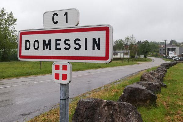 Le village de Domessin en Savoie.