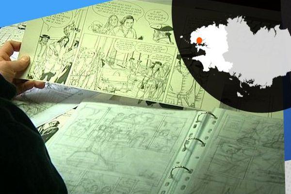 Patrice Pellerin donne vie aux héros corsaires en dessins.