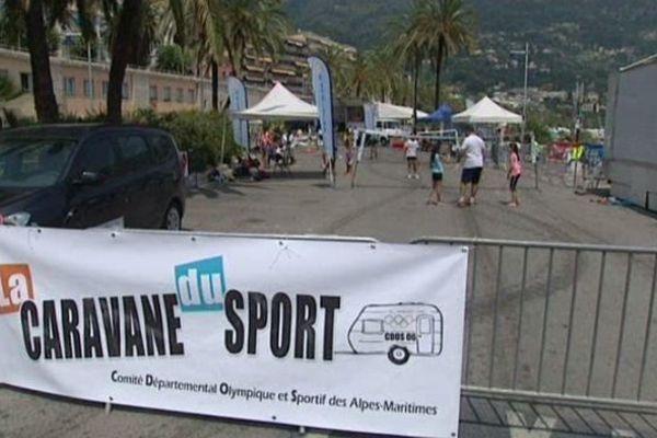 La Caravane du Sport propose des animations aux enfants de 4 à 14 ans.