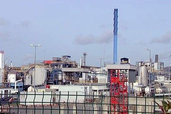 L'usine Lubrizol de Rouen.