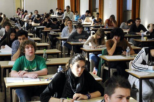 5 689 lycéens sont inscrits au bac 2013 dans l'Académie de Limoges (illustration)