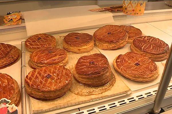Galettes dans une boulangerie-pâtisserie de Limoges