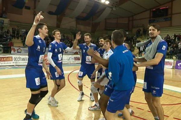 Montpellier l'a finalement emporté lors de la cinquième manche