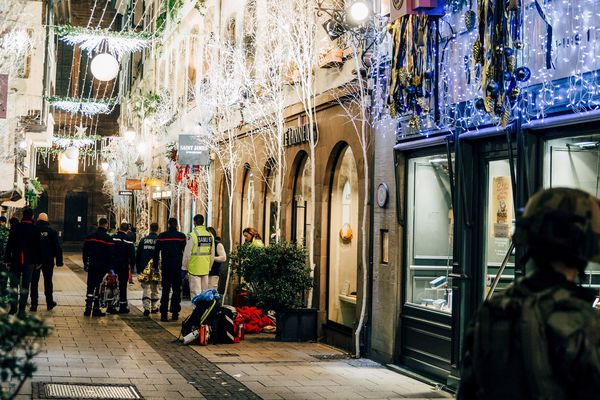 La rue des Orfèvres à Strasbourg, lieu où la fusillade a éclaté mardi 11 décembre.