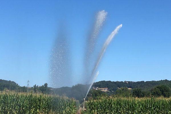 Les mesures de restriction d'eau s'accentuent dans le département