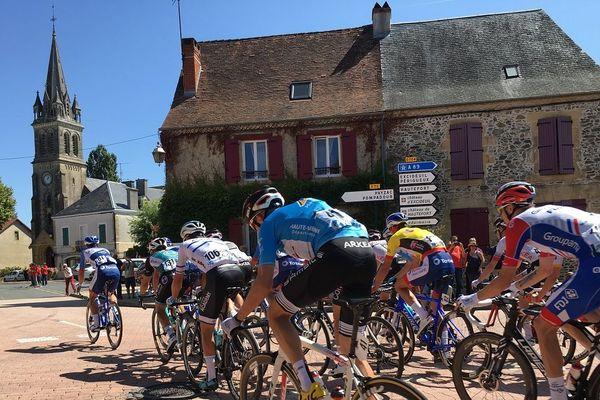 Le Tour du Limousin est passé par Lanouaille (24)