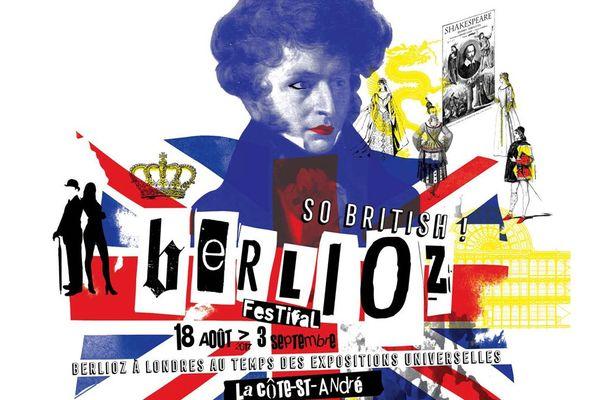 Affiche du Festival Berlioz 2017 : Berlioz à Londres au temps des expositions universelles
