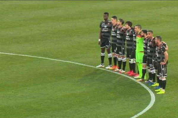 Vendredi 26 avril, les clubs ajacciens de l'AC Ajaccio et du GFCA ont rendu hommage aux victimes de la catastrophe de Furiani.