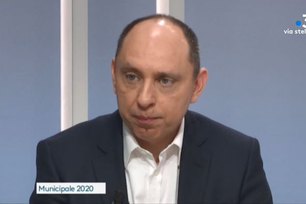 Jean-André Miniconi, tête de liste d'Aiacciu Pà Tutti