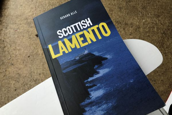 Scottish Lamento, le dernier polar de Gérard Alle paru chez IN8