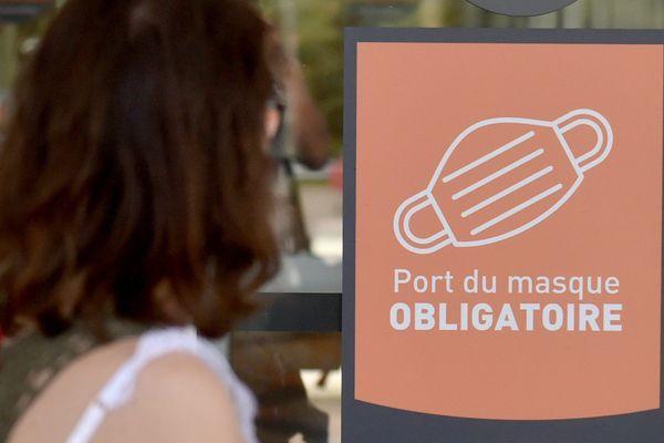 Le masque s'impose dans les espaces publics de deux nouvelles villes en Savoie. (Illustration)