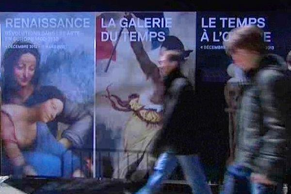 Le musée du Louvre-Lens a accueilli des visiteurs toute la nuit de samedi à dimanche.