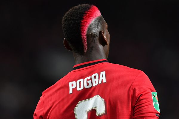 Paul Pogba lors d'un match, en septembre 2019.