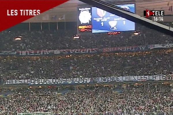 En 2008, lors de la finale de la Coupe de la Ligue entre Lens et le PSG