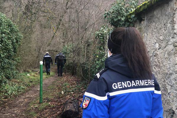 L'agression a eu lieu sur un sentier forestier isolé de Saint-Egrève, en Isère.