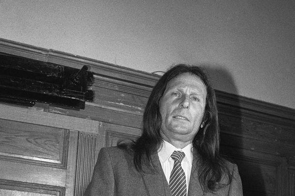 Draguignan - Le criminel d'origine corse, Joseph-Thomas Recco lors de son procès, le 06 juin 1983.