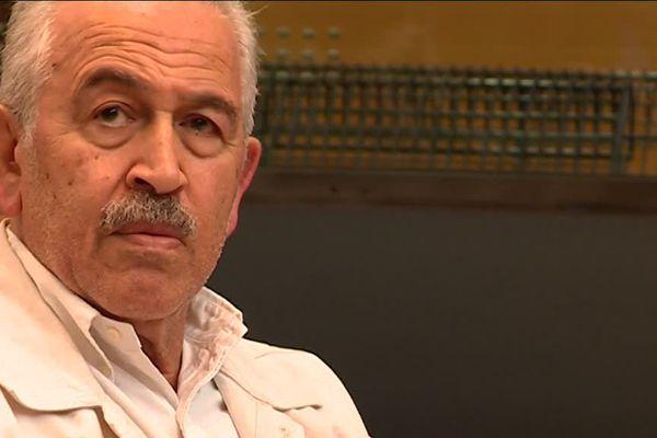 Le bijoutier Stephan Turk ce jeudi lors du dernier jour du procès à Nice.