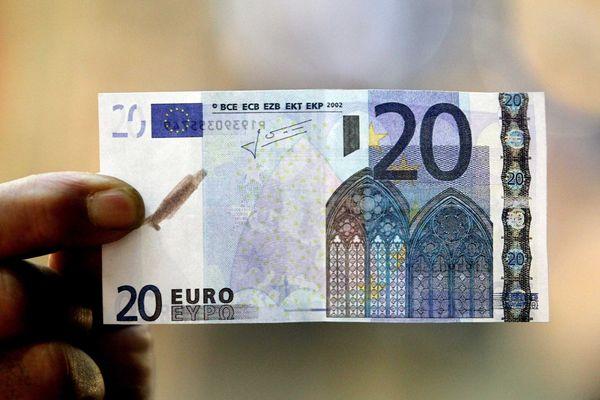 Un faux billet de 20 euros