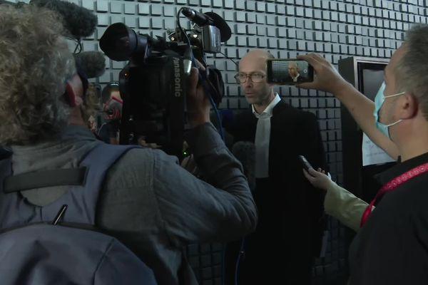 Maître Olivier Pacheu, avocat des tantes et cousine de Pascal Troadec, à l'issue des plaidoiries