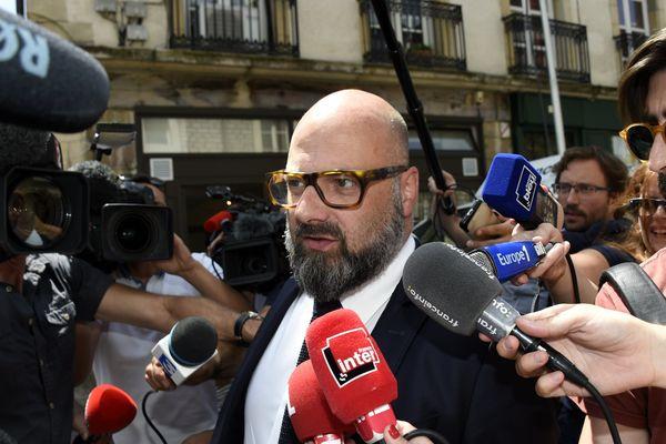 """Stéphane Giuranna, l'avocat vosgien de Marcel Jacob, estime """"totalement anormale"""" l'incarcération de son client.(été 2017)"""