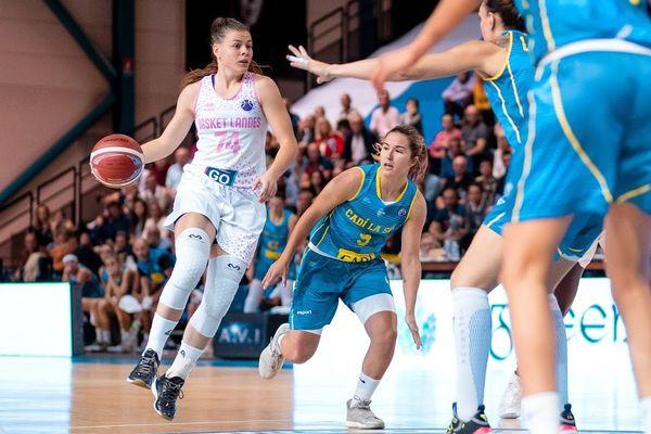 EuroCup Women : premier match Basket Landes vs Cadi La Seu