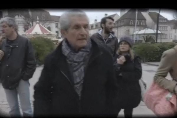 Claude Lelouch en repérage, avec la promotion des Ateliers du Cinéma