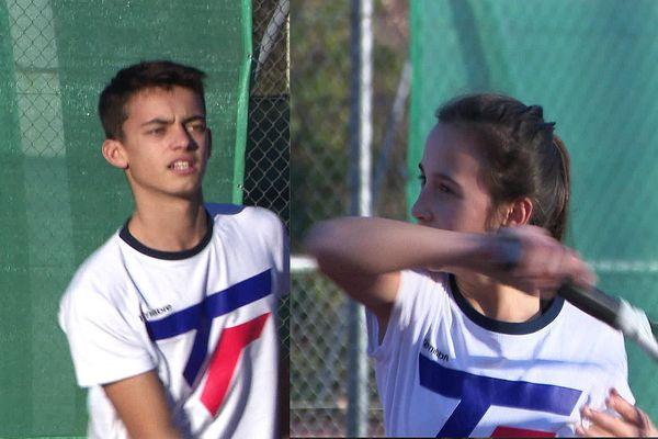 La fratrie Mouret : ne les provoquez pas sur un terrain de tennis !