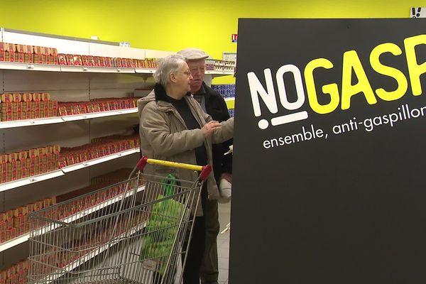 NoGasp!, un magasin anti-gaspillage ouvert depuis ce jeudi 13 février 2020 à Champniers (Charente).