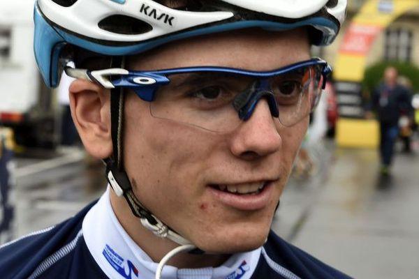 David Gaudu, vainqueur du Tour de l'Avenir 2016