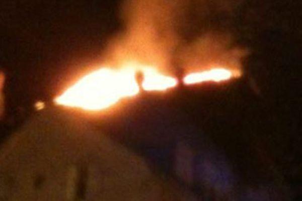 """Incendie de l'hôtel """"le Collonges"""" à Brive"""