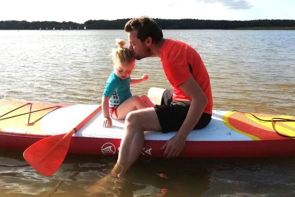Le SUP ou Paddle, un sport qui se partage en famille