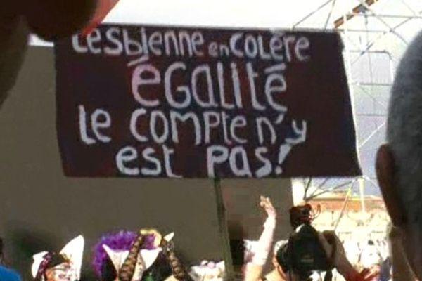 La 20ème Gay pride de Montpellier sous le signe de la revendication