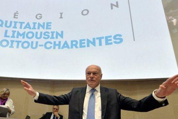 Alain Rousset, président de la région Aquitaine-Limousin-Poitou-Charentes