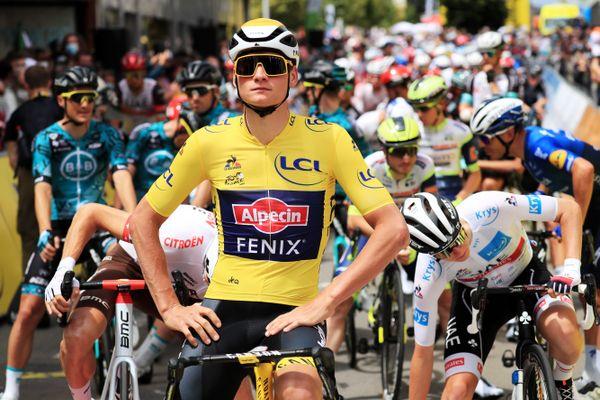 Mathieu Van der Poel aura porté le maillot jaune que son grand père n'a jamais enfilé.