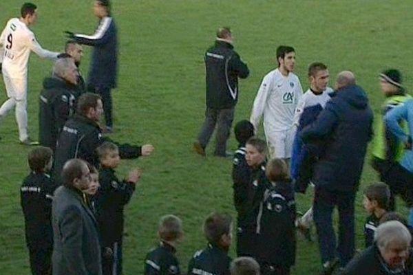 Les joueurs amateurs de Saint-Amand n'ont pas démérité face aux professionnels du Havre.