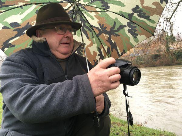 Bernard Delhaye, un véritable chasseur d'images dans la vallée de la Meuse qu'il affectionne, et qu'il immortalise chaque jour