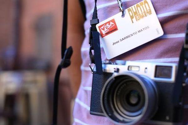 Un photographe espagnol pendant la semaine professionnelle de Visa pour l'Image