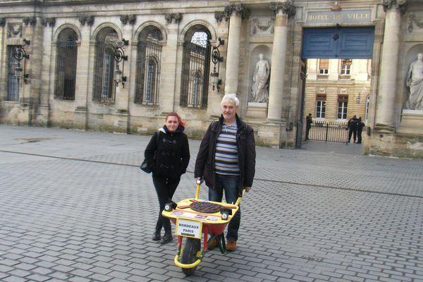 Jean-Louis Guimberteau va traverser 830 kilomètres avant d'atteindre Paris