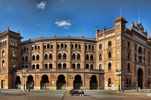 Les arènes de Madrid - archives