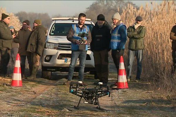 Les chasseurs affirment qu'ils ne se serviront pas du drone en période de prélèvement.