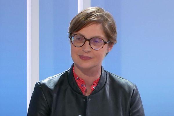 Delphine Labails, candidate socialiste à Périgueux en Dordogne