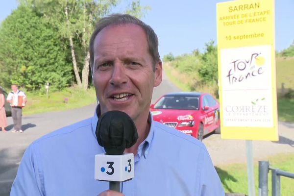 Christian Prudhomme, invité du journal régional de 19h, le 9 juillet 2020 sur France 3 Limousin