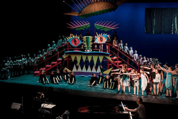 La Légende du Roi Dragon, répétition générale à l'Opéra de Lille, en mars 2018
