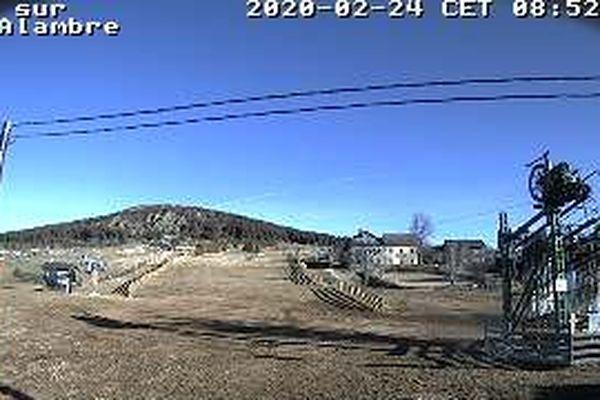 webcam du domaine alpin des Estables en Haute-Loire