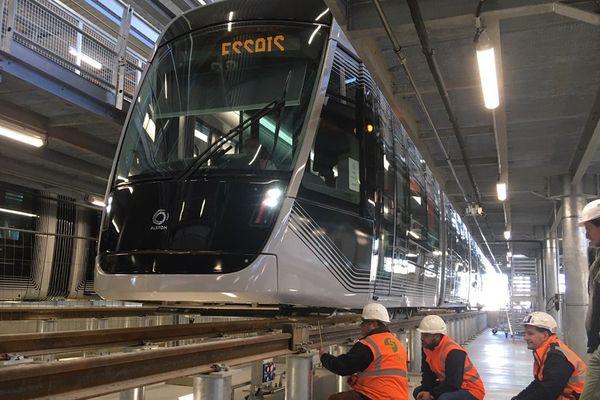 Le centre de maintenance et d'exploitation du futur tramway de Caen-la-Mer est basé à Fleury-sur-Orne