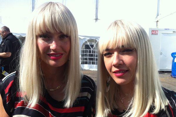 Le duo Brigitte est arrivé à Bourges.