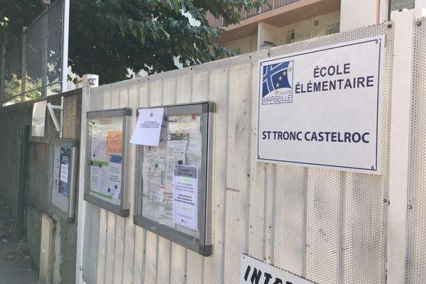 L'école élémentaire Saint Tronc Castelroc fermée pour cause de grève