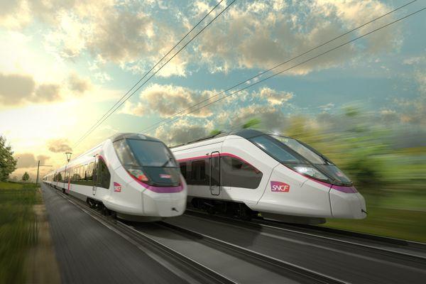 Les nouvelles rames des Intercités sur la ligne POLT pourraient rouler en 2024.