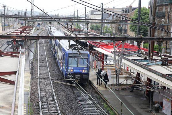 Une femme a abandonné un bébé sur le quai du RER C à Juvisy-sur-Orge (RER C) vendredi 22 octobre.