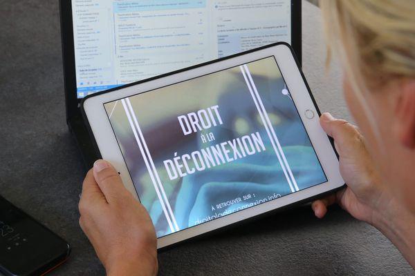 Le droit à la déconnexion est inscrit dans la loi depuis janvier 2017.